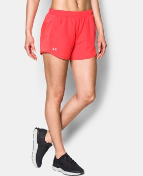 Women's UA Fly-By Perforated Shorts   $29.99