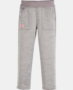 New Arrival Girls' Toddler Armour® Fleece Pants   $32.99