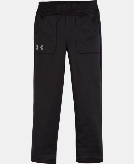 Girls' Pre-School Armour® Fleece Pants   $32.99