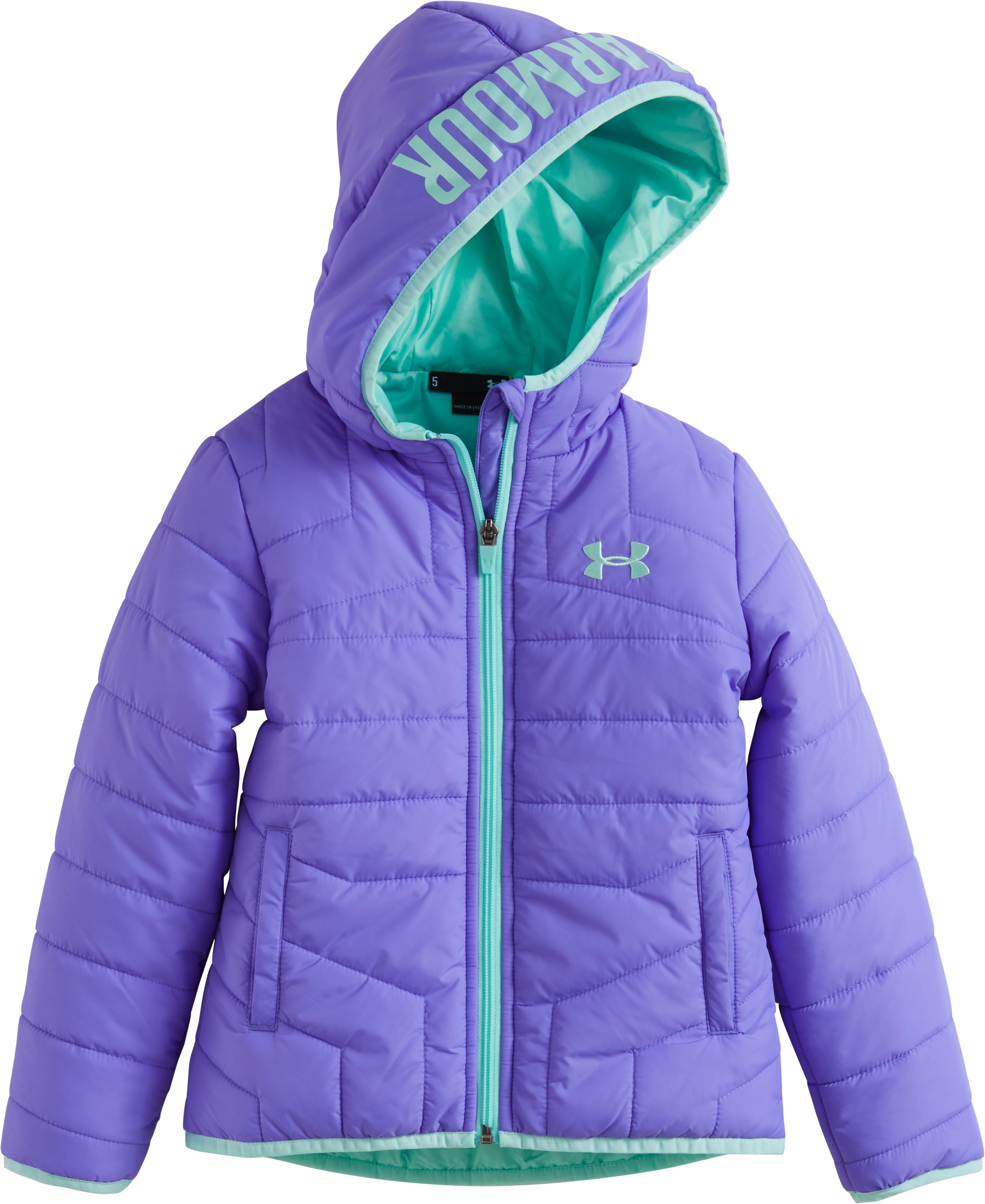 Girlsu0026#39; Toddler UA Feature Puffer Jacket   Under Armour US