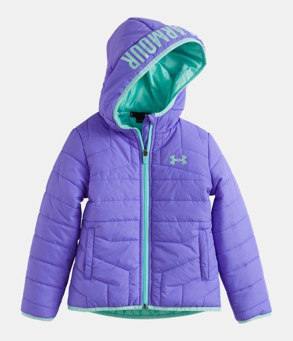 e75cfc1f5 Girls  Toddler UA Feature Puffer Jacket