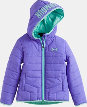 Girls' Pre-School UA Feature Puffer Jacket   $59.99