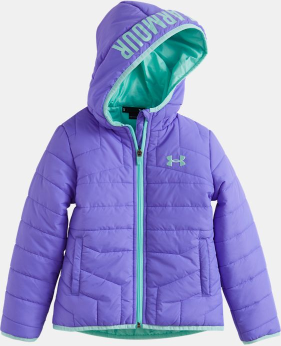 Girls' Pre-School UA Feature Puffer Jacket  3 Colors $59.99