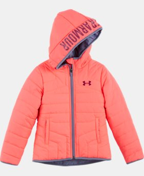 Girls' Pre-School UA Feature Puffer Jacket   $44.99