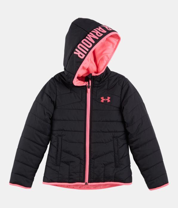 103c19cee4 Girls' Newborn UA Feature Puffer Jacket