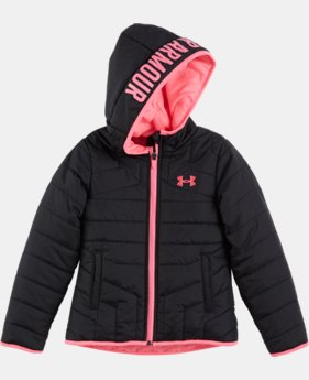 Girls' Newborn UA Feature Puffer Jacket LIMITED TIME: FREE U.S. SHIPPING 3 Colors $43.99 to $57.99