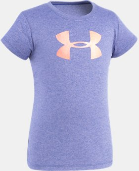 Girls' Pre-School UA Big Logo T-Shirt  4 Colors $10.49