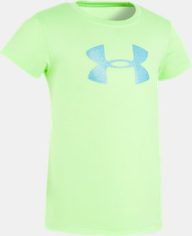 Girls' Pre-School UA Big Logo T-Shirt LIMITED TIME: FREE U.S. SHIPPING 4  Colors Available $17.99