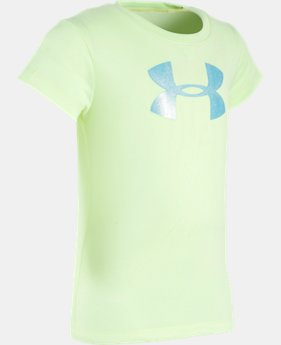 Girls' Pre-School UA Big Logo T-Shirt  2 Colors $13.99