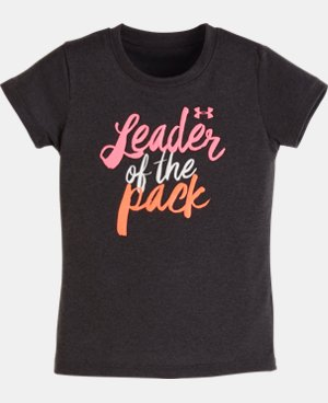 Girls' Toddler UA Leader Of The Pack T-Shirt LIMITED TIME: FREE U.S. SHIPPING  $13.99