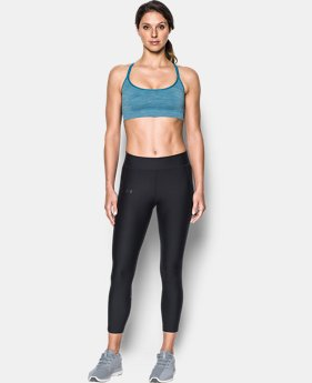 Women's UA Threadborne™ Seamless Low Heathered Sports Bra  1 Color $29.99