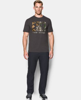 Men's UA Camo Knockout Logo T-Shirt   $29.99