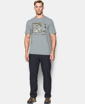 Men's UA Camo Knockout Logo T-Shirt  3 Colors $34.99