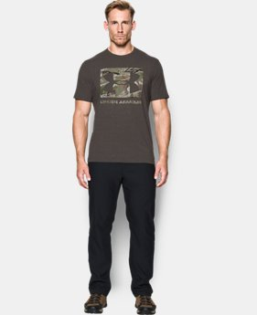 Men's UA Camo Knockout Logo T-Shirt  1  Color $17.99 to $22.99