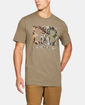 Men's UA Camo Knockout Logo T-Shirt   $22.49