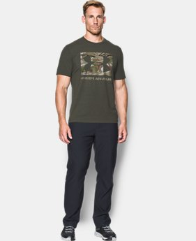Men's UA Camo Knockout Logo T-Shirt  1 Color $22.49