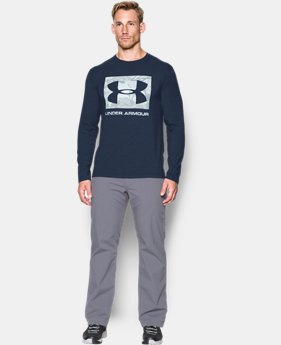 Men's UA Camo Knockout Long Sleeve T-Shirt  5 Colors $34.99