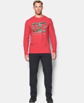 Men's UA Camo Knockout Long Sleeve T-Shirt  1 Color $34.99
