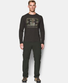 Men's UA Camo Knockout Long Sleeve T-Shirt  1 Color $29.99