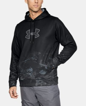 Men's UA Storm Caliber Faded Hoodie  1 Color $63.74