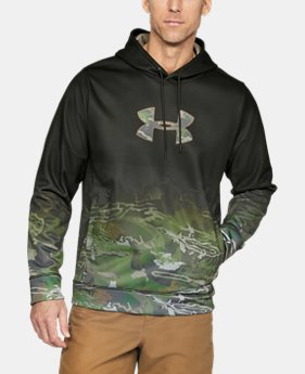 Men's UA Storm Caliber Faded Hoodie  1  Color Available $63.74
