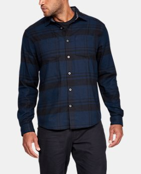 Men's UA Borderland Flannel  1  Color Available $89.99