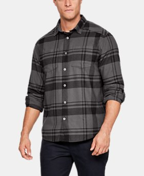 Men's UA Borderland Flannel  2  Colors Available $104.99