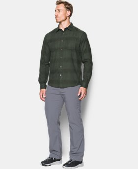 Men's UA Borderland Flannel  1 Color $67.49