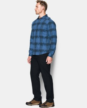 New to Outlet Men's UA Borderland Flannel  2  Colors Available $67.99