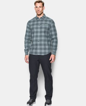 Men's UA Tradesman Lightweight Flannel  5 Colors $52.49