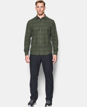 Men's UA Tradesman Lightweight Flannel  1 Color $52.49