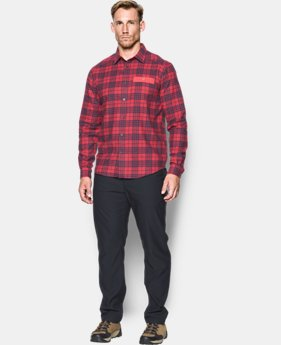 Men's UA Tradesman Lightweight Flannel  1 Color $69.99