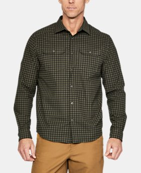 New Arrival Men's UA Threadborne™ Wool Flannel  1 Color $119.99