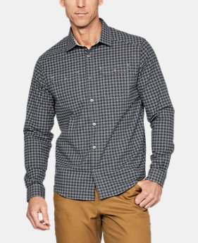 New Arrival Men's UA Threadborne™ Wool Flannel  2 Colors $119.99