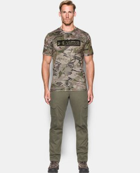 Men's UA Camo Tag Shorts Sleeve  1 Color $33.74