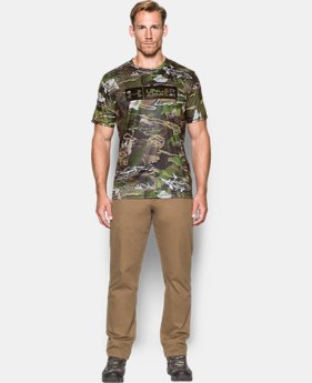 Men's UA Camo Tag Shorts Sleeve  1 Color $39.99