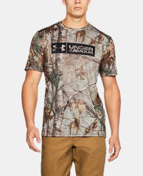 Men's UA Camo Tag Shorts Sleeve  2  Colors Available $23.99 to $29.99
