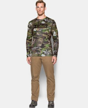 Men's UA Camo Tag Long Sleeve  1 Color $44.99
