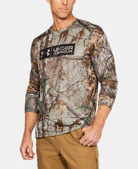 Men's UA Camo Tag Long Sleeve   $44.99
