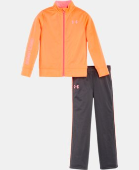 New Arrival Girls' Infant UA Teamster Track Set   $37.99