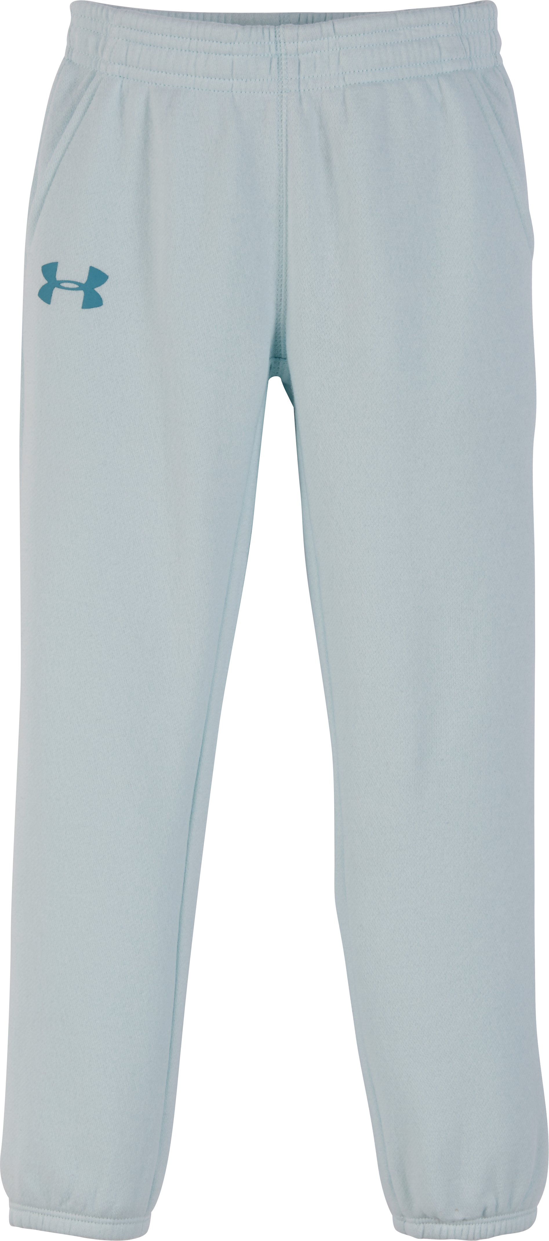 Girls' Toddler UA Favorites Jogger, AQUA FALLS, Laydown