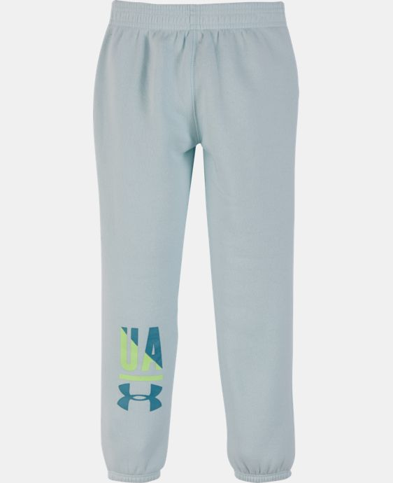 Girls' Pre-School UA Favorites Jogger LIMITED TIME OFFER + FREE U.S. SHIPPING 1 Color $17.99