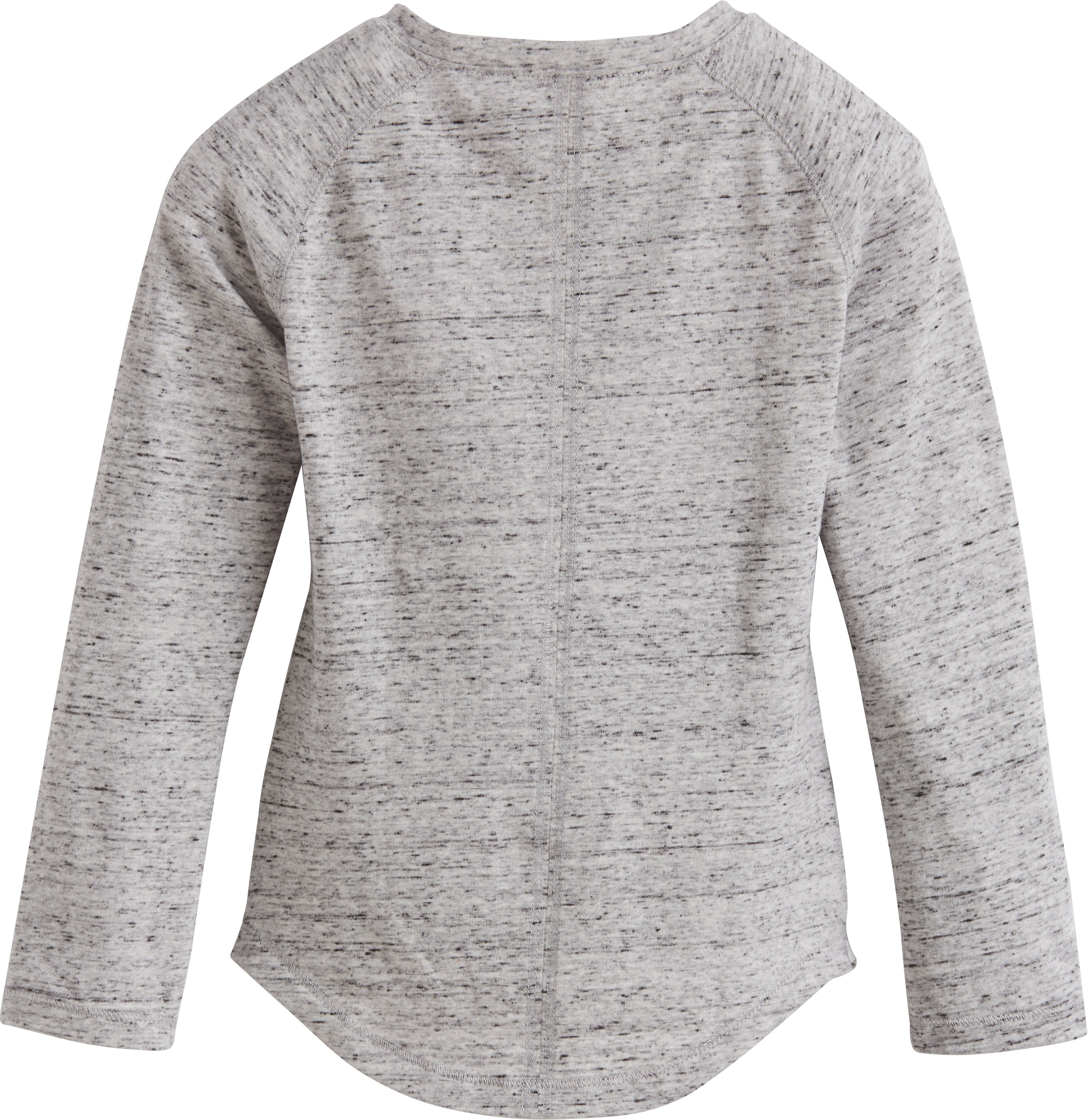 Girls' Toddler UA Blurred Striped Logo, True Gray Heather, undefined
