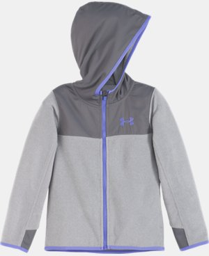 Girls' Toddler UA Hundo Full Zip Hoodie LIMITED TIME: FREE U.S. SHIPPING  $42.99