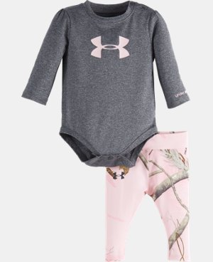Girls' Newborn UA Big Logo Real Tree Set  1 Color $39.99