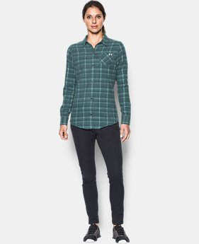 Women's UA Better Flannel  1 Color $79.99