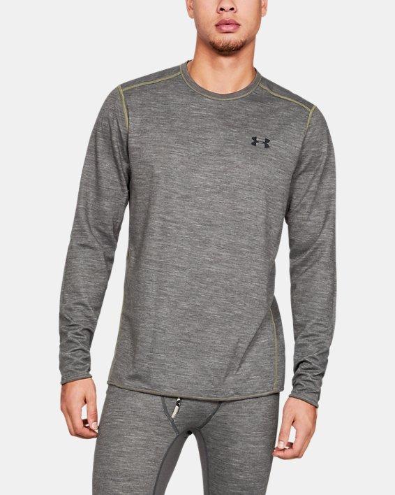 Men's UA Mid Season Reversible Wool Base Crew, Misc/Assorted, pdpMainDesktop image number 7