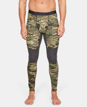 Men's UA Mid Season Reversible Wool Base Leggings  2  Colors Available $99.99