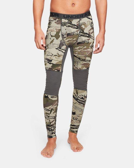 Men's UA Mid Season Reversible Wool Base Leggings, Misc/Assorted, pdpMainDesktop image number 2