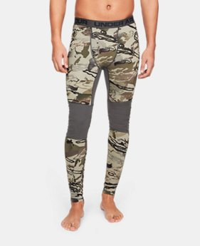 Men's UA Mid Season Reversible Wool Base Leggings  1  Color Available $99.99